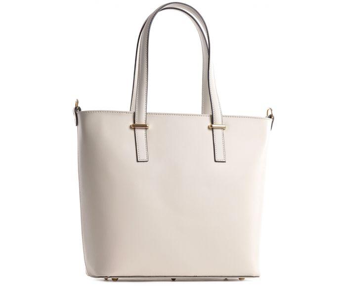 Skórzana torebka shopper bag na lato