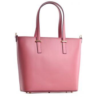 Modna torebka skórzana shopper