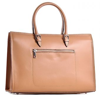 Elegancka torebka skórzana włoska