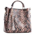 Skórzana torebka kuferek
