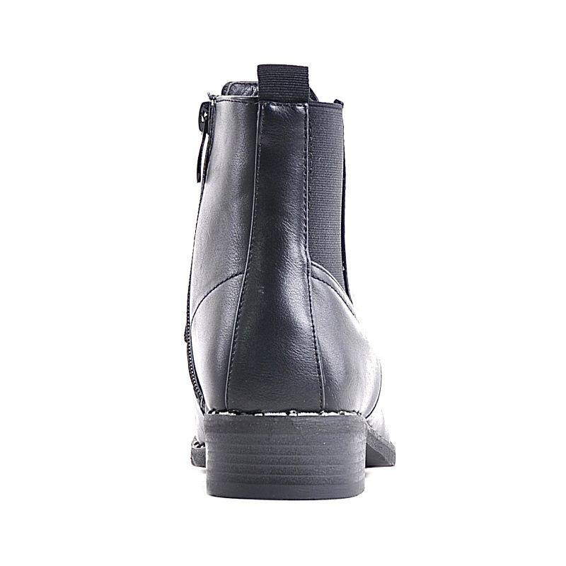 578a64ee61c4a ... Czarne botki zimowe na zamek · Niskie śniegowce czarne z futerkiem ·  Niskie śniegowce czarne z futerkiem