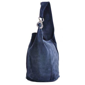 Granatowa torebka damska na ramię