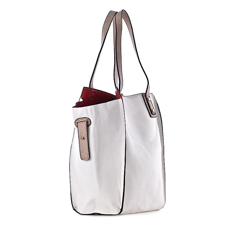 bac6385f94388 Biała torebka damska elegancka