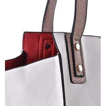 Biała torebka damska elegancka