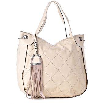 modna torebka damska beżowa