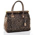 Stylowa torebka damska kuferek wysokiej jakości