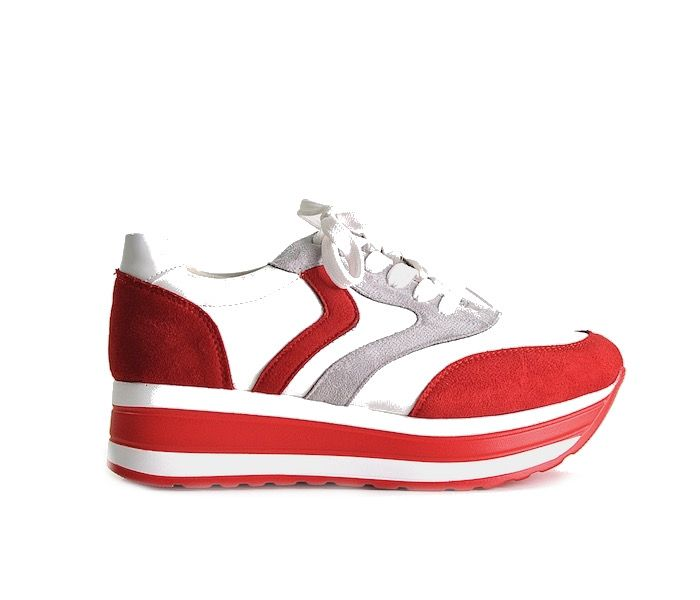 Sportowe buty na platformie