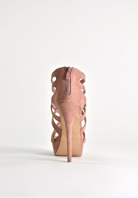 Nude szpilki 13 cm Seduction