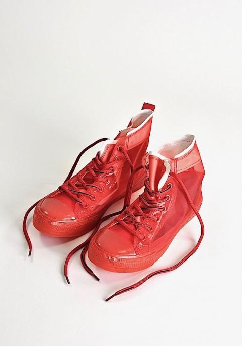 Czerwone trampki na lato Snazzy