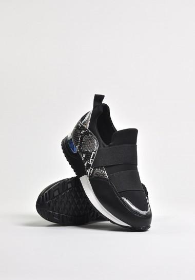 Czarne buty sportowe Black...