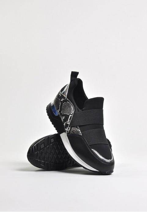 Czarne buty sportowe Black Snake