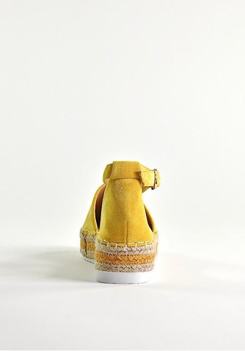 Buty damskie na platformie espadryle