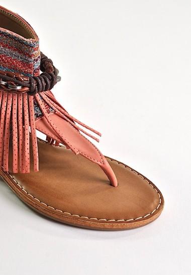 Modne sandały damskie w...