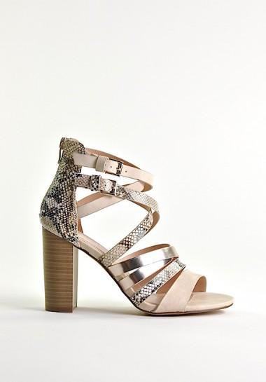 Eleganckie sandały z...