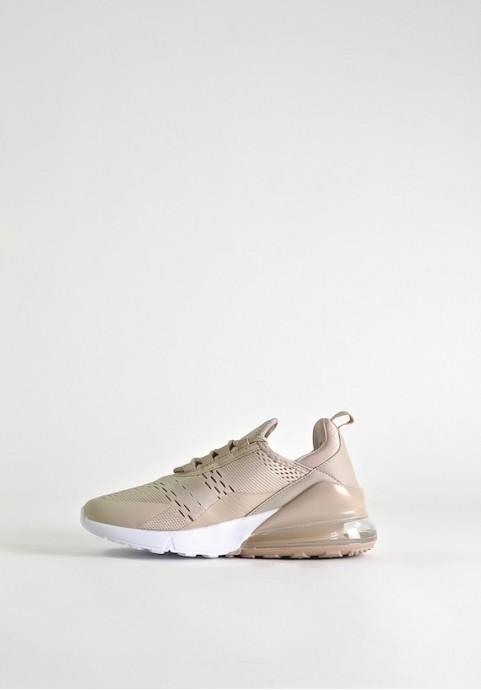 Damskie buty sportowe beżowe