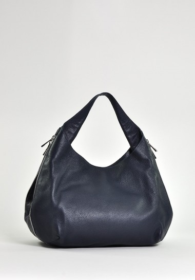Granatowa modna torba...