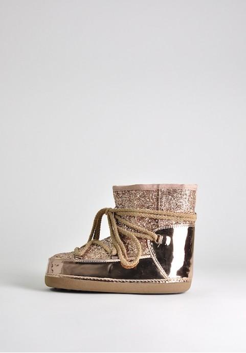Śniegowce Moon Boot złote