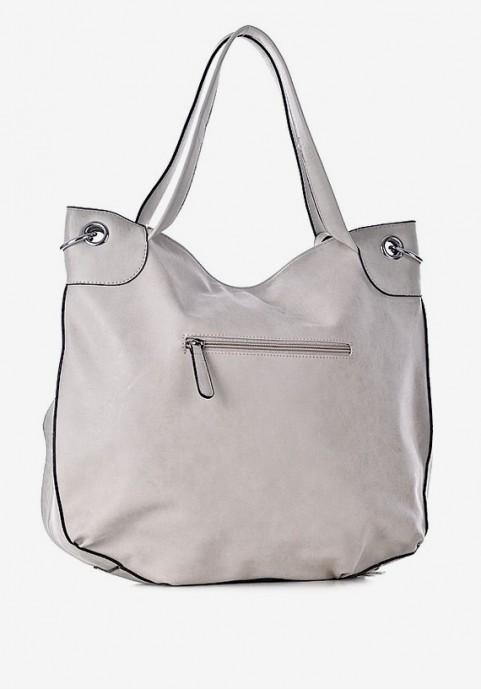 Dwukomorowa torebka na ramię