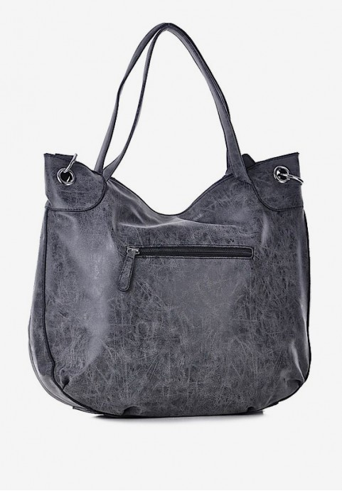duża torebka czarna
