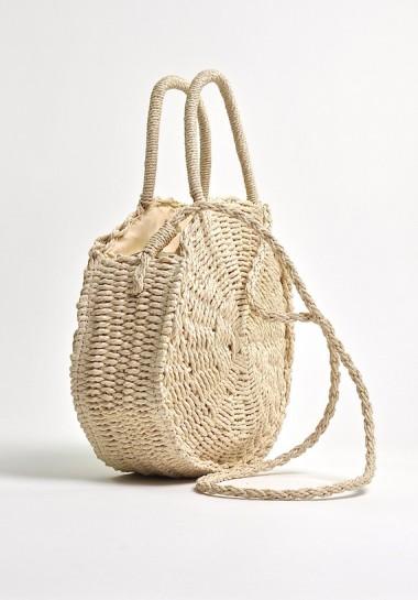 torebka pleciona z rafii