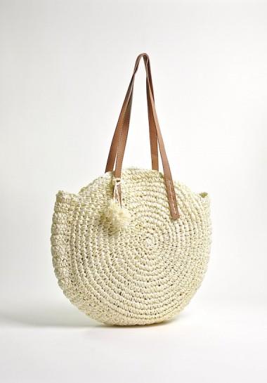 Pleciona torba plażowa na...