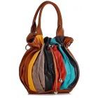 Włoska torba ze skóry kolorowa