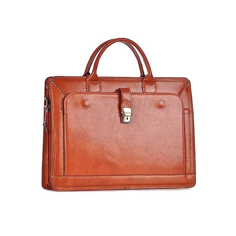 0cb74f9c3496 Eleganckie teczki damskie ze skóry biznesowe torby na laptopa ...