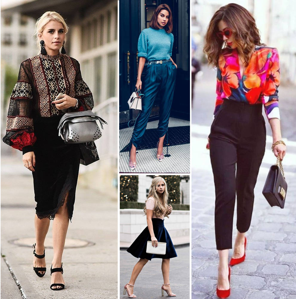 eleganckie stylizacje dla niskich kobiet