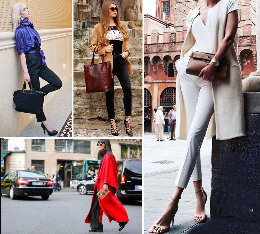 torebka kuferek czarna do eleganckiej stylizacji, duża torebka shopper z miodowym płaszczem, mała listonoszka do czerwonego płaszcza
