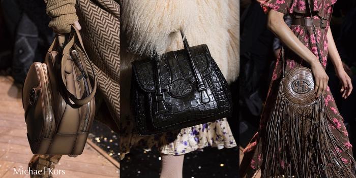 torebki z pokazu mody na jesień zima 2019/2020 Michael Kors