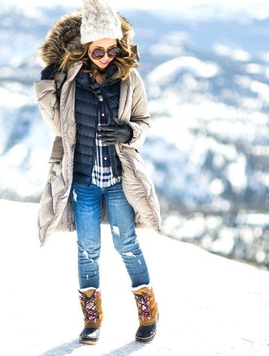 Śniegowce - stylowe buty na zimę